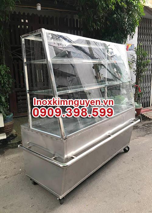 Tủ Inox Bán Bánh Mì