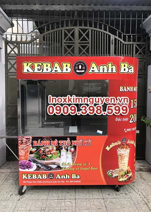 Xe Bánh Mì Thổ Nhĩ Kỳ Cong 1m8