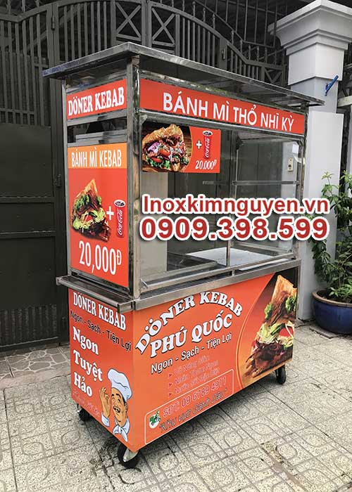 Xe Bánh Mì Thổ Nhĩ Kỳ Doner Kebab