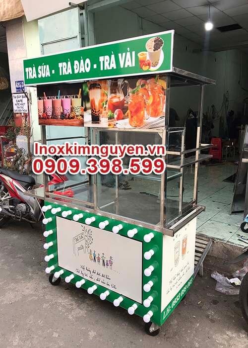 Xe Trà Sữa Trang Trí Đẹp 1m2 Giá Rẻ