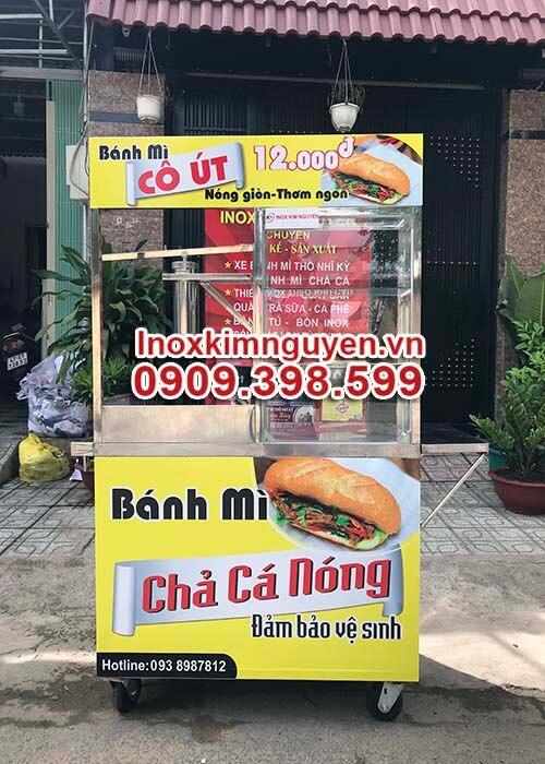 Xe Bánh Mì Chả Cá Đẹp 1M
