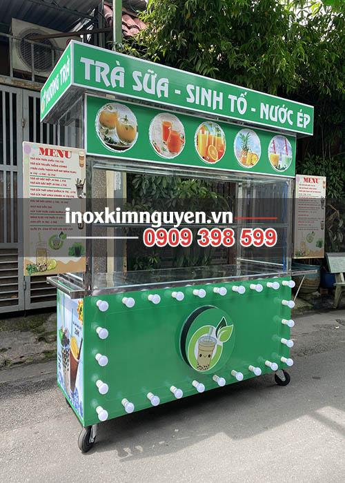 Xe bán trà sữa Kim Nguyên