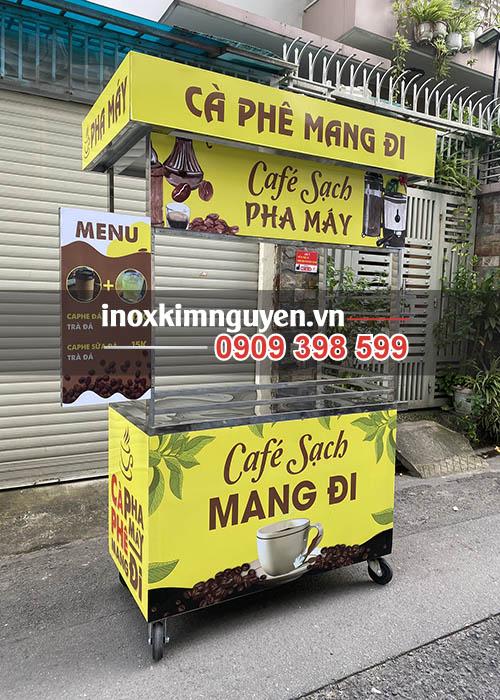 Xe bán cafe mang đi Kim Nguyên