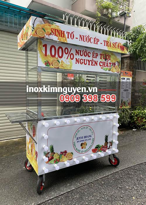 Xe bán nước ép trái cây Kim Nguyên