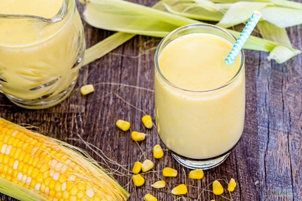 Cách làm sữa ngô kết hợp với lê ngon nhất